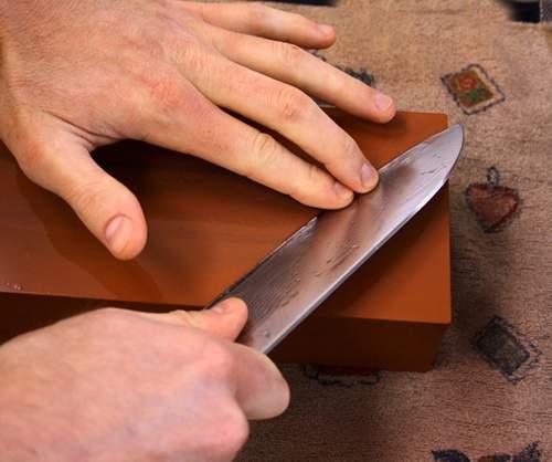 Ручная заточка ножей