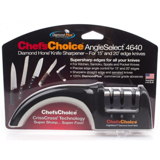Ножеточка механическая Chef's Choice-4640