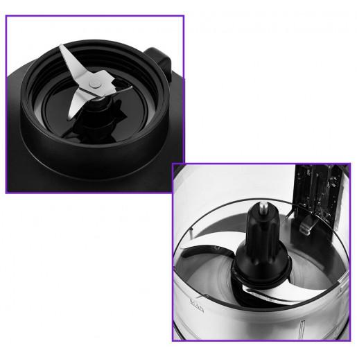 Кухонный комбайн 4в1 Kitfort КТ-1386 (измельчитель, тёрка, блендер, кофемолка)